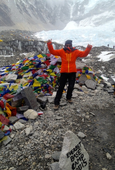 Mt. Everest Basecamp 5365 m